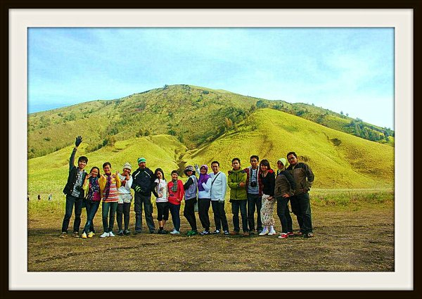 Together Photo at Bukit Teletubies Bromo