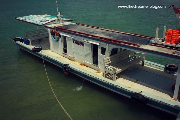 Transportasi Kapal ke Pulau Peucang