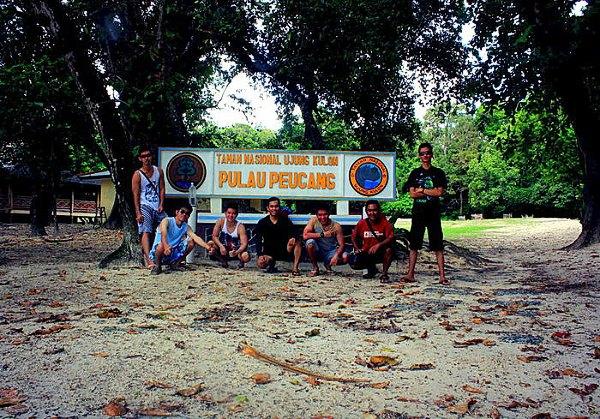Maskot Pulau Peucang