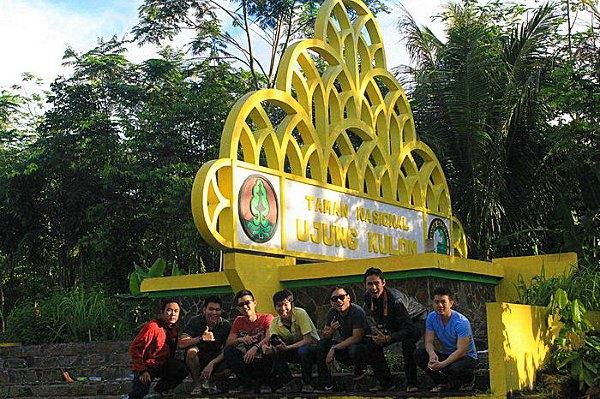 Selamat Datang di Taman Nasional Ujung Kulon