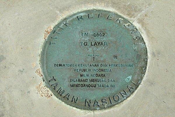 Titik Nol - Tanjung Layar, Ujung Kulon