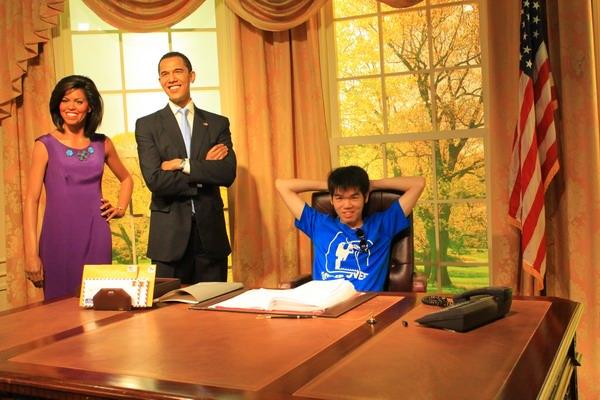 Barack Obama - Madame Tussauds Bangkok