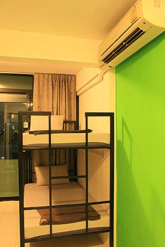 Kamar Tidur De Talak Hostel - Tipe Mixed Dorm