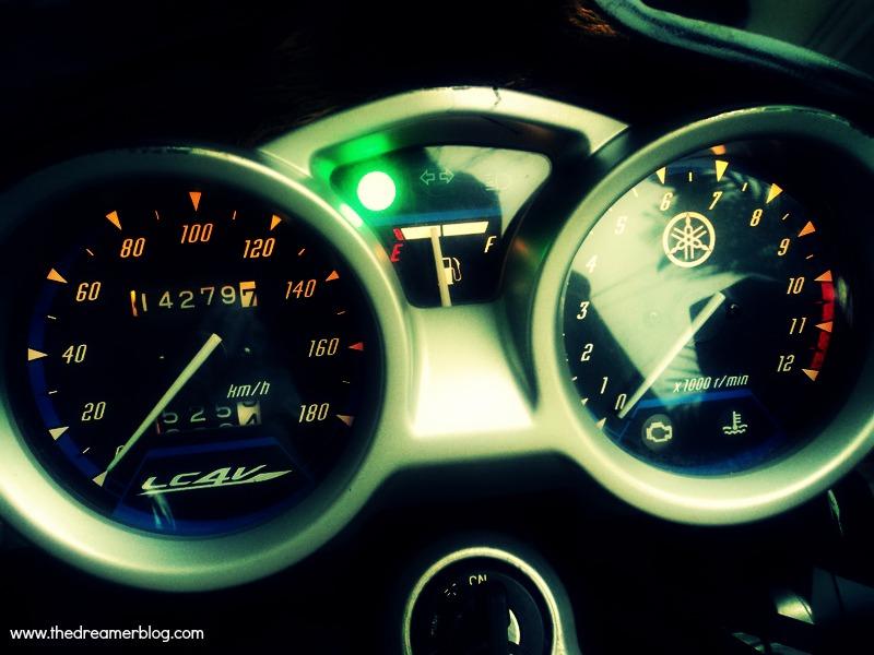 Jarum RPM di Speedometer Vixion Naik Turun