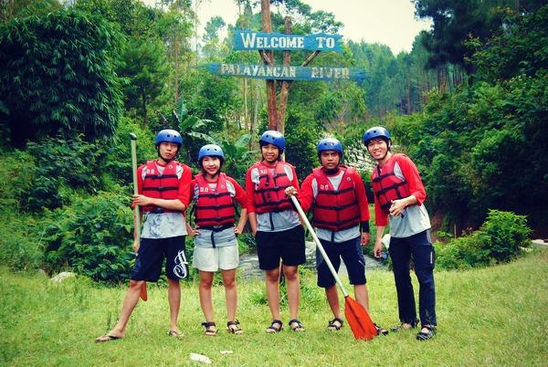 Boom! Seru nya Rafting dan PaintBall di Situ Cileunca, Pangalengan