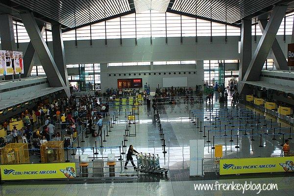 Counter Check In Cebu Pacific di Ninoy Aquino Airport