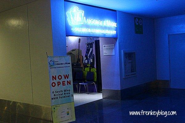 Tempat Penitipan Koper di Bandara Ninoy Aquino - Manila