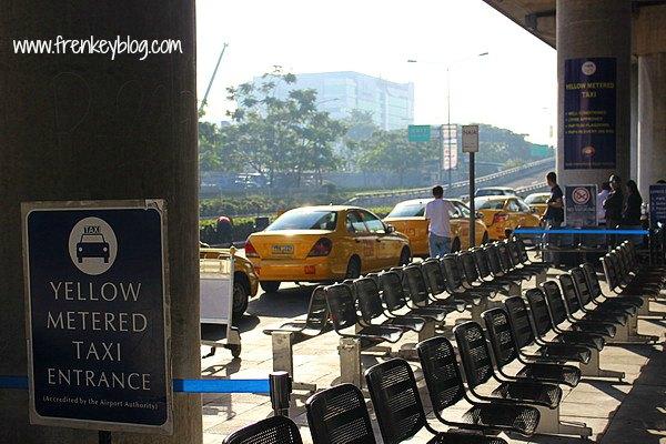 Taxi Argo di Bandara Ninoy Aquino - Manila