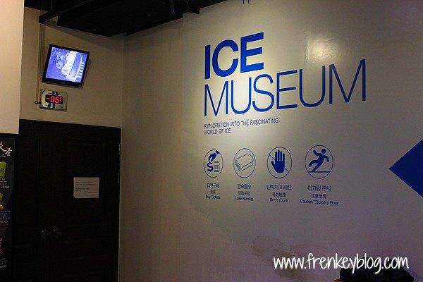 Pintu Masuk ke Ice Museum - Seoul