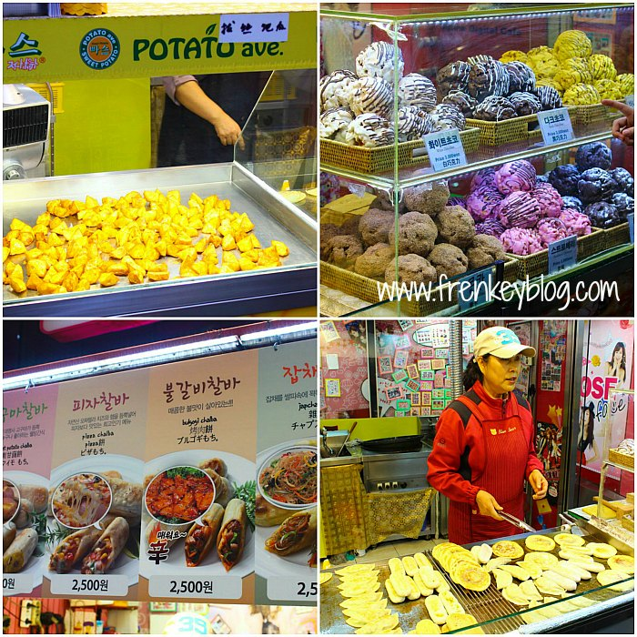 Cemal Cemil di Myeongdong