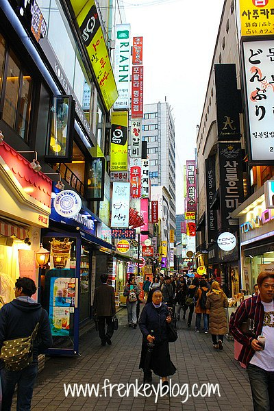 Myeongdong Shopping Area