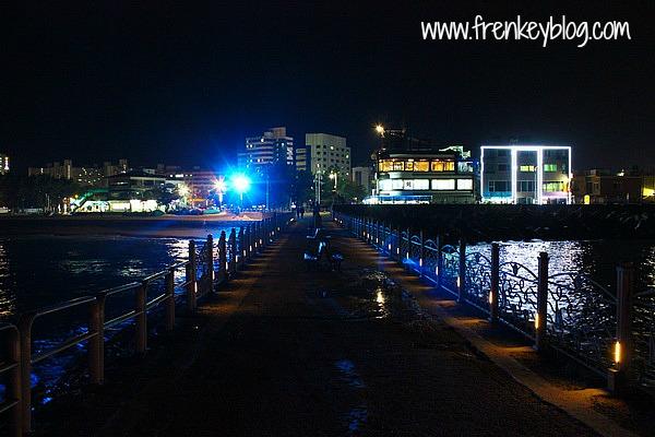 Pantai Sokcho di Malam Hari