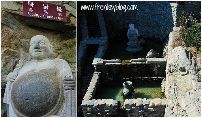 Budha Pemberi Anak Lelaki dan Tempat Lempar Koin Keberuntungan