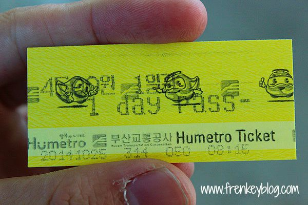 One Day Pass - Busan