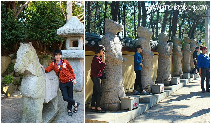 Shio Kuda dan Deretan Shio Lain nya di Yonggungsa Temple