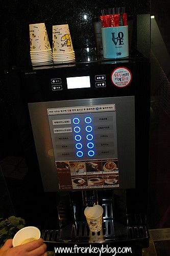 Coffee Maker di Lobby Motel