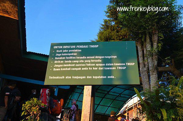Pos Penjaga Gunung Gede Jalur Putri