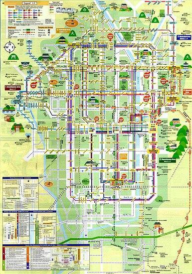 Kyoto Bus Map ( Klik untuk Full Screen )