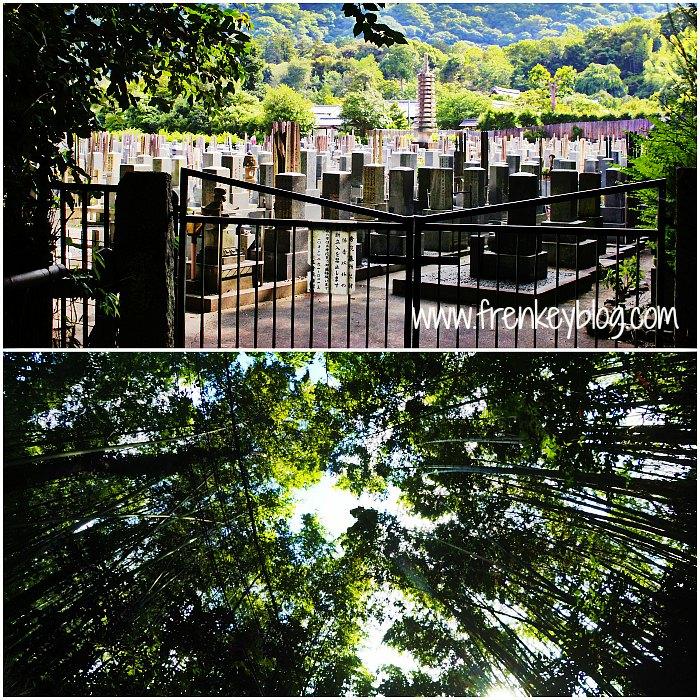 Kuburan di Arashiyama Bamboo ~ View Bamboo Groves