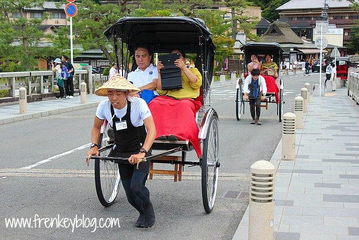 Arashiyama Pulled Rickshaw