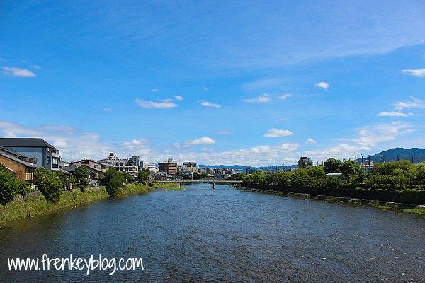 Kamo River - Kyoto, Ada tempat Jogging di sebelah nya