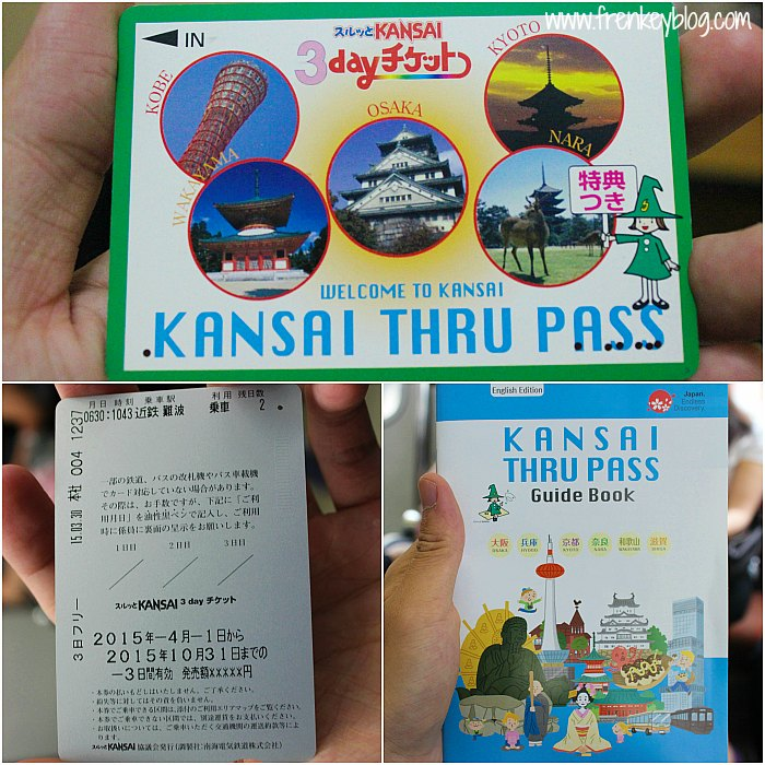 3 Days Kansai Thru Pass - Guide, Discount, Peta Kansai Thru Pass