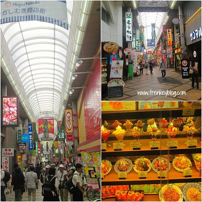 Market Place di Nara ( Dekat Pintu Exit Kintetsu Nara Station )