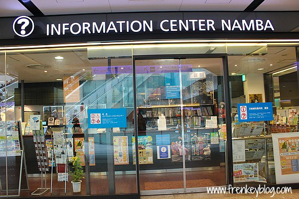 Information Center di Namba Station