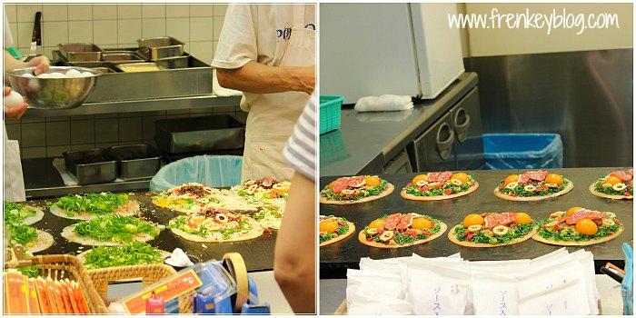 Okonomiyaki 680 Yen - Gion