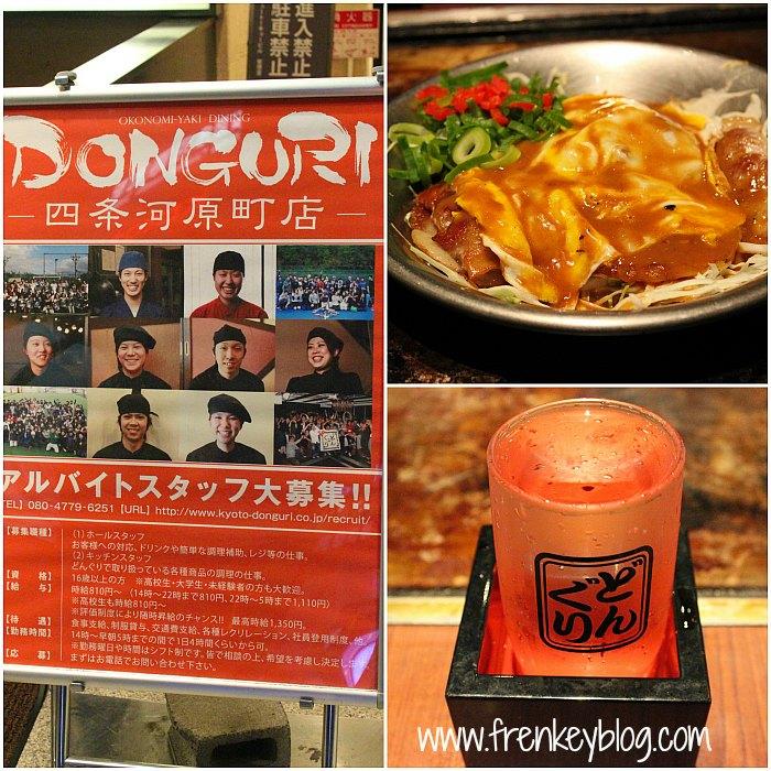 Donguri Restaurant, Okonomiyaki, Sake