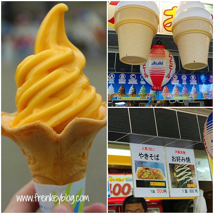 Ice Cream Rasa Orange 300 Yen ( Not Worth it )