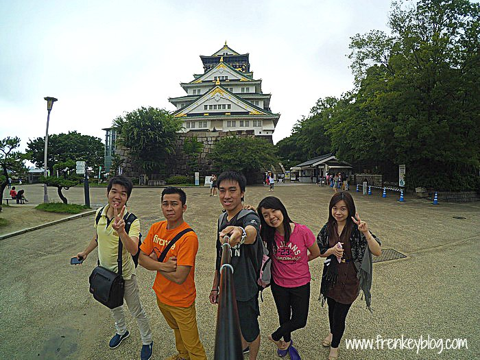Osaka Castle, Check in Completed!