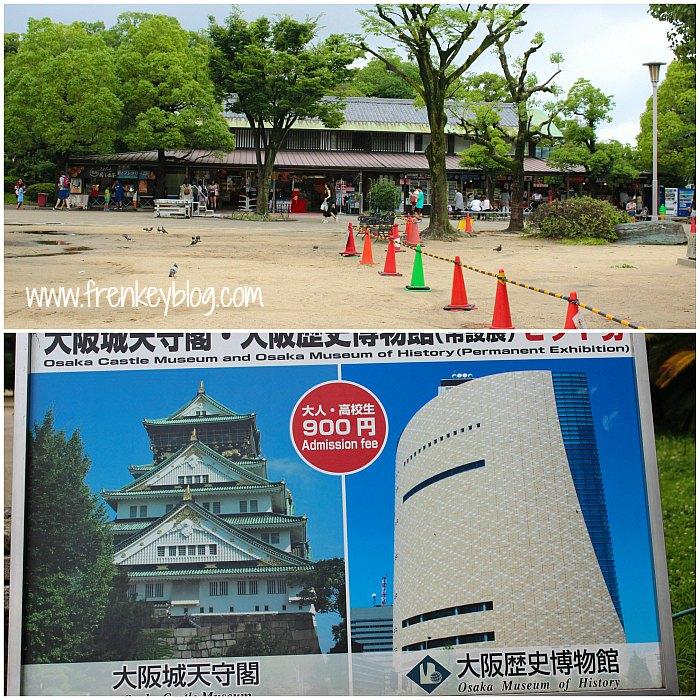 Suasana Sekitar Osaka Castle & Osaka Castle + Osaka Museum of History Admission Fee