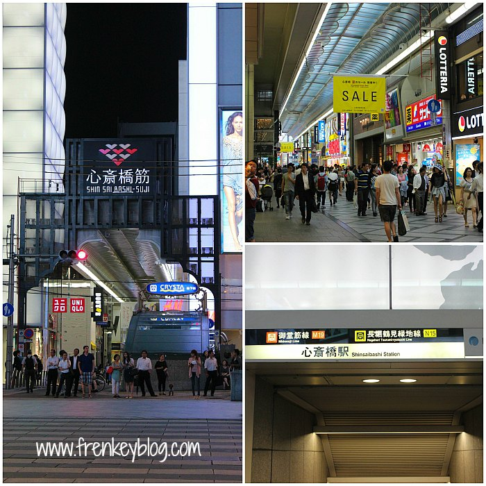 Shinsaibashi Shopping Area - Osaka