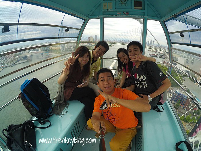 Check in Completed! -Tempozan Ferris Wheel-