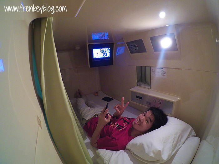 Capsule Room - Shin Imamiya Hotel, Osaka