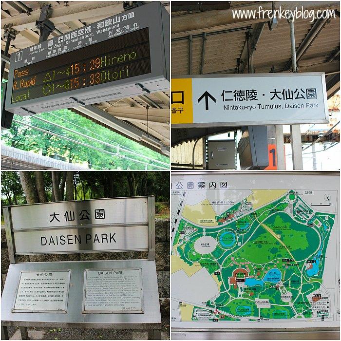 Arah Menuju Daisen Park dan Peta Luas Area Daisen Park