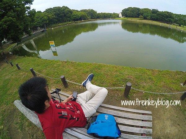 Duduk Cantik di Daisen Park