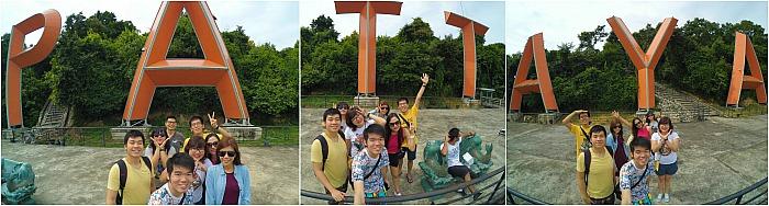 Foto Iseng @Pattaya City Sign
