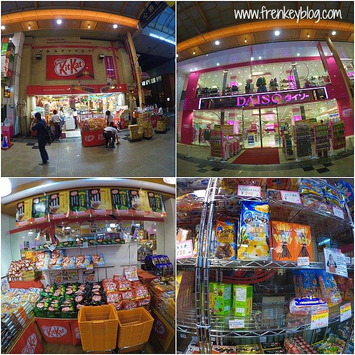 Kitkat Store - Daiso di Shinsaibashi dan Aneka Snack Jepang