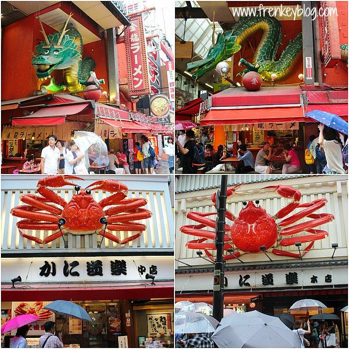 Ramen ( Patung Naga ) dan Kuliner Kepiting, engga tau yang mana yang aseli haha..