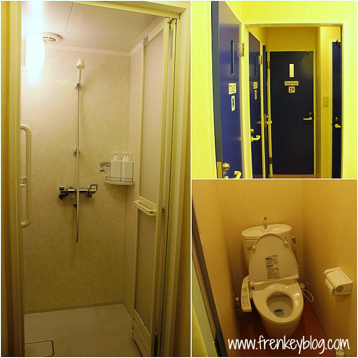 Sharing Bathroom and Toilet @Hostel K's House Kyoto