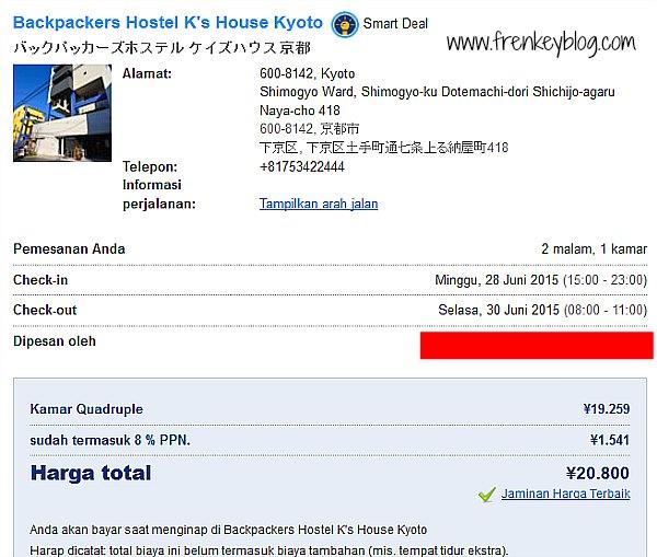 Booking.com Hostel K's House Kyoto