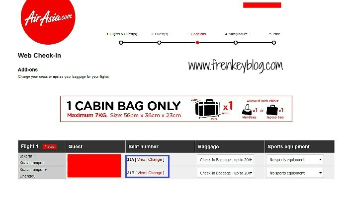 Web Check In AirAsia