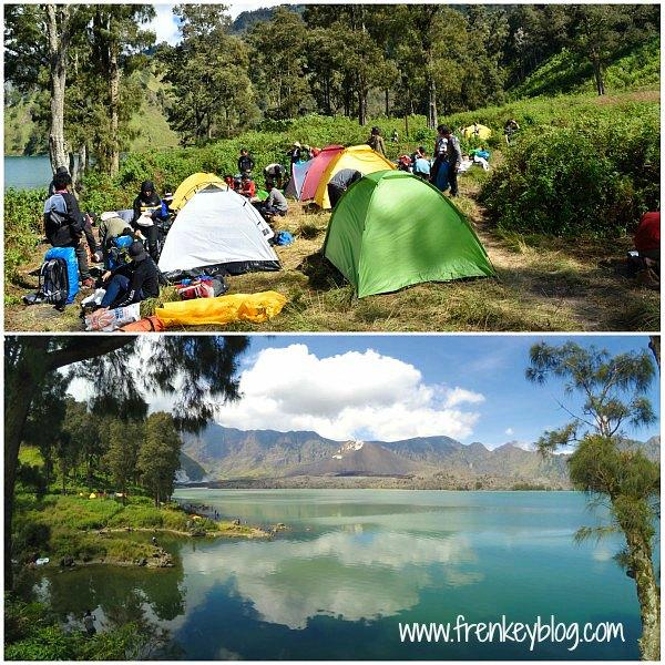 Tempat Camping di Danau Segara Anak