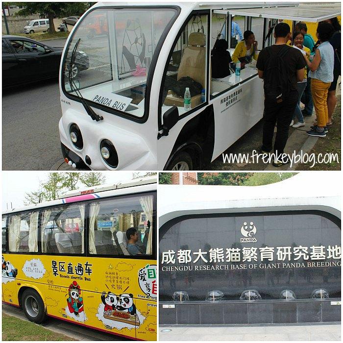 Arah ke Chengdu Research Base of Giant Panda Breeding