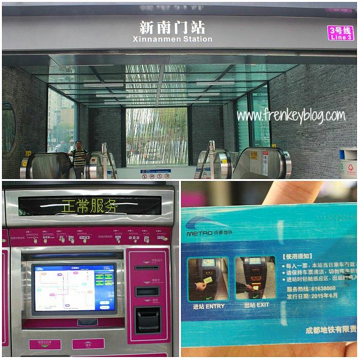 Xinnanmen Subway Station - Chengdu