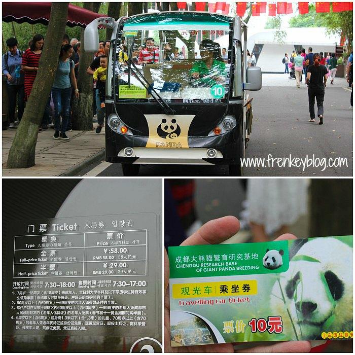 Mobil Keliling Rumah Panda - 10 Yuan PP