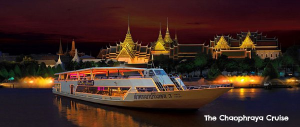 The ChaoPhraya Cruise - Bangkok