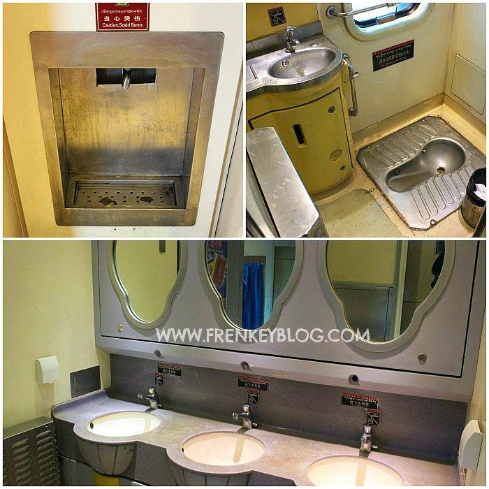 Air Panas Gratis, Toilet dan Wastafel di Kereta China